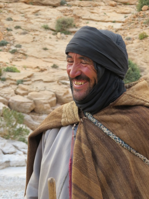 This Berber shepherd was happy to chat with us, using his few words of English, and we were delighted that he allowed us to photograph him.